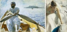 Caique Oarsman and Reveil by Anders Zorn