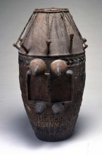 Kueku Buja, Master Drum for a Civic Brotherhood, early 20th century