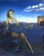 Salvador Dalí, Portrait of Dorothy Spreckels Munn, 1942. Oil on canvas. Gift of Mrs. Charles A. Munn, 1989.65