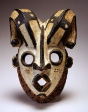 Mask, early 20th century Nigeria, Ogoni people