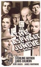The Asphalt Jungle movie poster