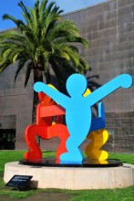 Keith Haring, Three Dancing Figures, 1989