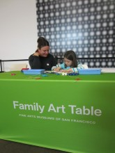 Family Art Table