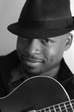 Terence Brewer image from Groovin' Wes album.