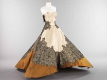 """Charles James, """"Clover Leaf"""" ball gown, 1953."""