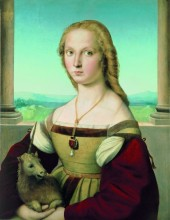 Raphael (1483–1520), Portrait of a Lady with a Unicorn