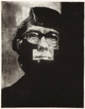 Working Proof for Keith by Chuck Close