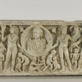 Season Sarcophagus, 260–280  Italy, Florence, Roman,  Marble with traces of polychrome