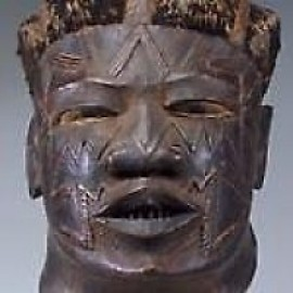 Helmet mask, Mozambique, Makonde people