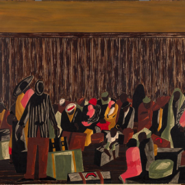 Painting by Jacob Lawrence
