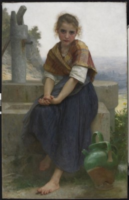Painting of a woman by William-Adolphe Bouguereau