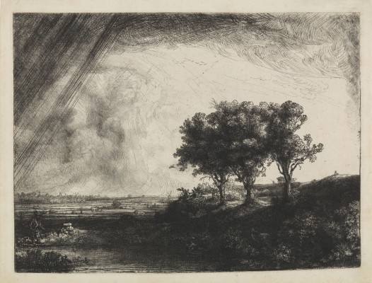 Landscape with the Three Trees