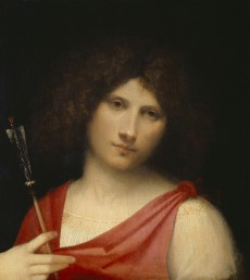Giorgio da Castelfranco, called Giorgione. Youth with an Arrow, ca. 1508–1510
