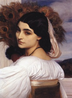 Frederic Leighton, Pavonia, 1858–9, oil on canvas. Private collection