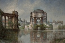 Edwin Deakin, Palace of Fine Arts and the Lagoon, ca. 1915. Oil on canvas. Crocker Art Museum, Sacramento, long-term loan from the California Department of Finance