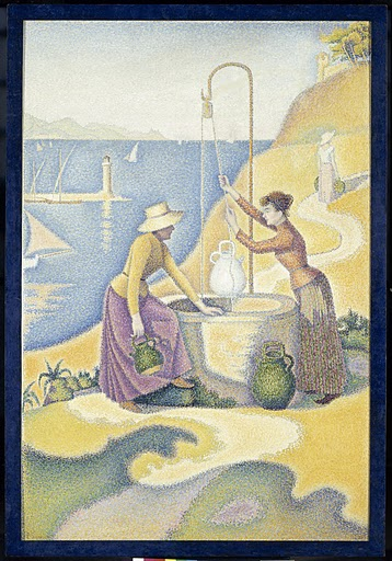 Signac, Women at the Well