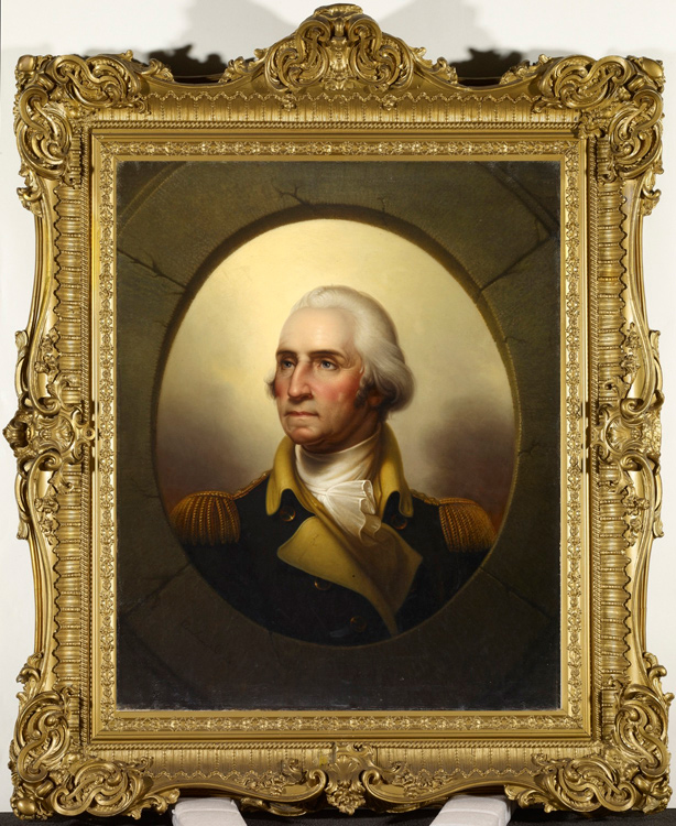 "Rembrandt Peale, ""George Washington"", ca.1850"