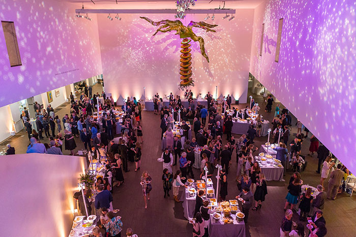 Bouquets to Art Opening Night Gala