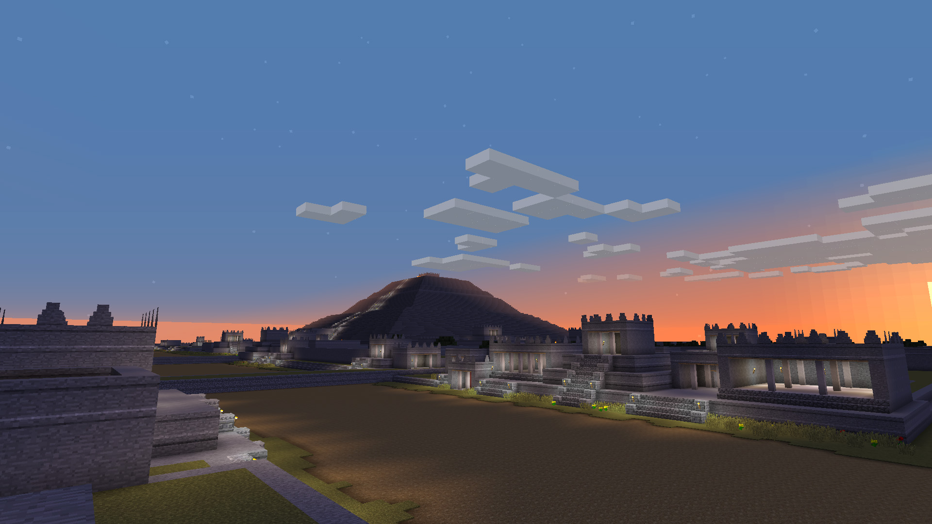 Minecraft Teotihuacan