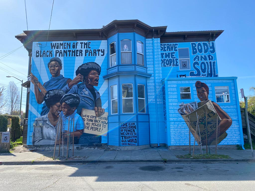 Women of the Black Panther Party Mural