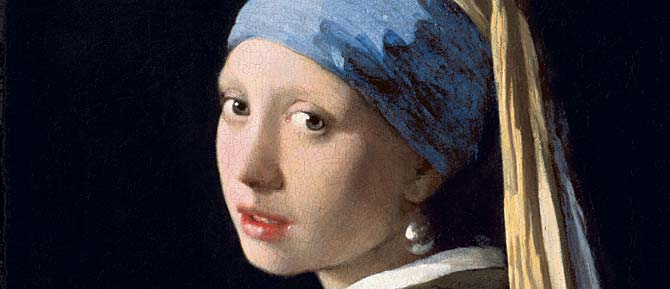 Girl with a Pearl Earring (detail)