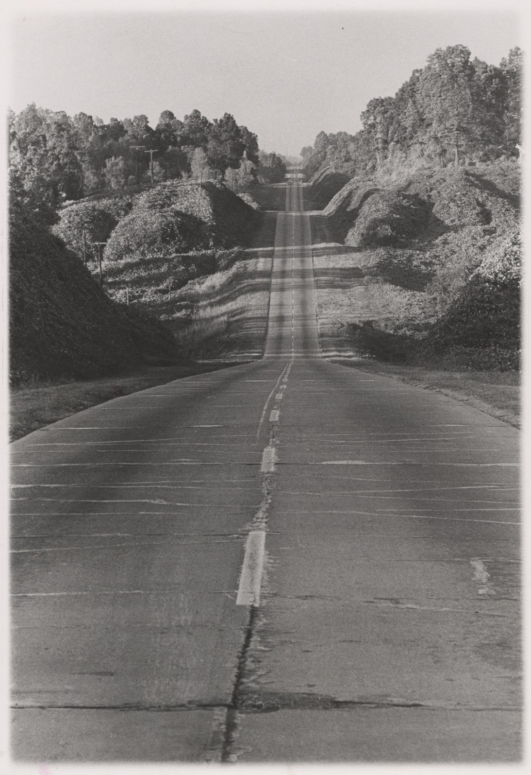 Danny Lyon, The Road to Yazoo City, Mississippi, 1964