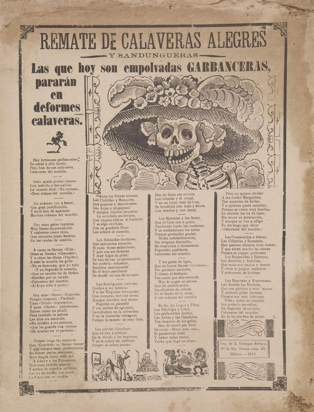 de Youngsters Open Studio: Print-at-Home Activity Inspired by José Guadalupe Posada