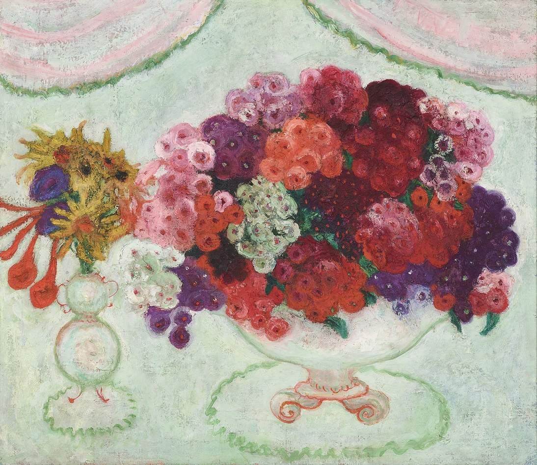 Florine Stettheimer Still Life with Flowers 1921