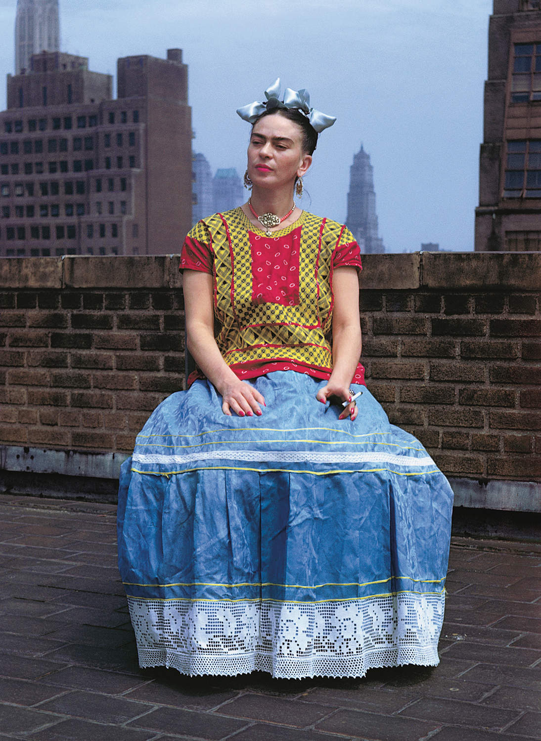 "Nickolas Muray, ""Frida in New York, New York City,"" 1946. © Nickolas Muray Photo Archives"