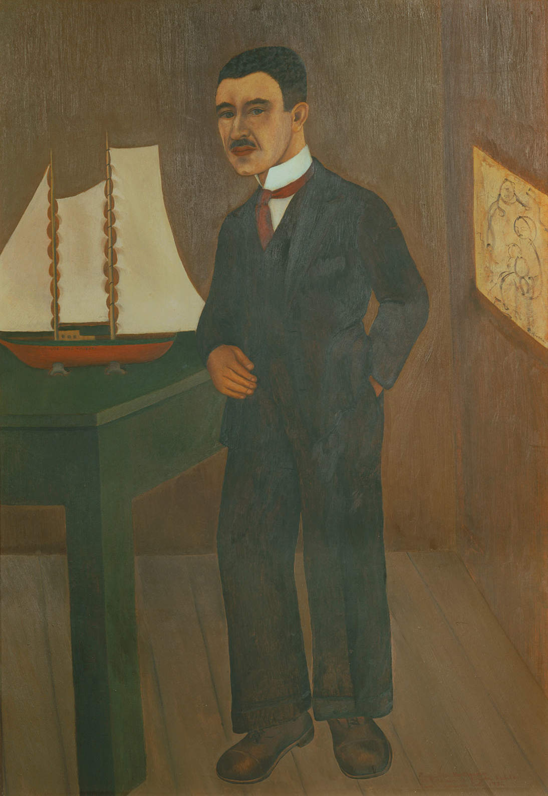 "Frida Kahlo, ""Portrait of Dr. Leo Eloesser,"" 1931"