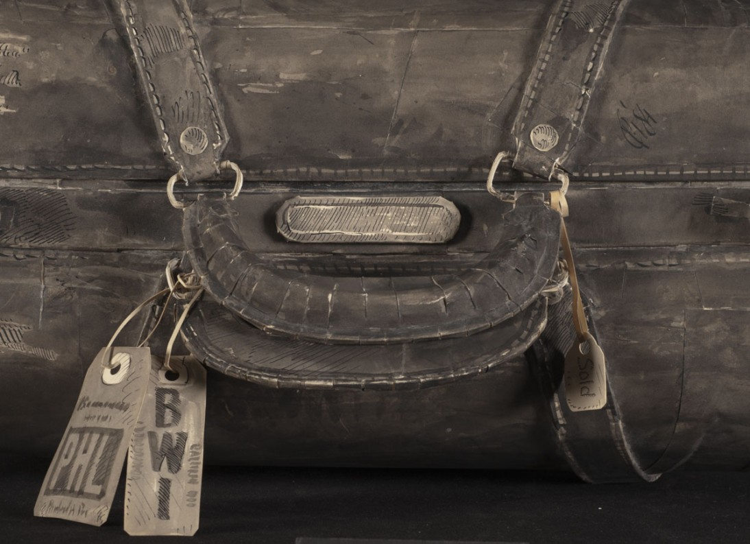 Pier Gustafson's Father's Suitcase