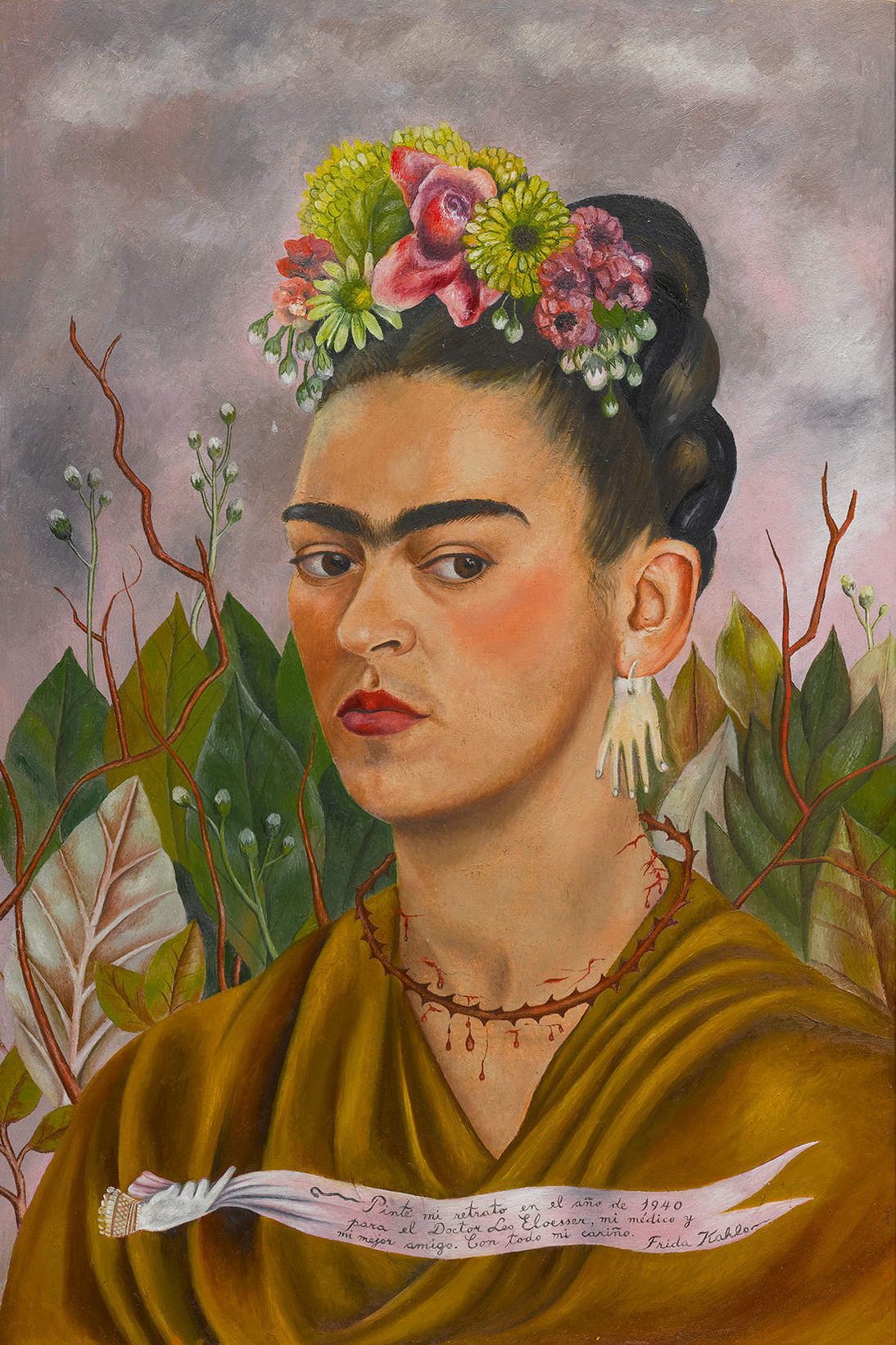 "Frida Kahlo, ""Self-Portrait Dedicated to Dr. Leo Eloesser,"" 1940"