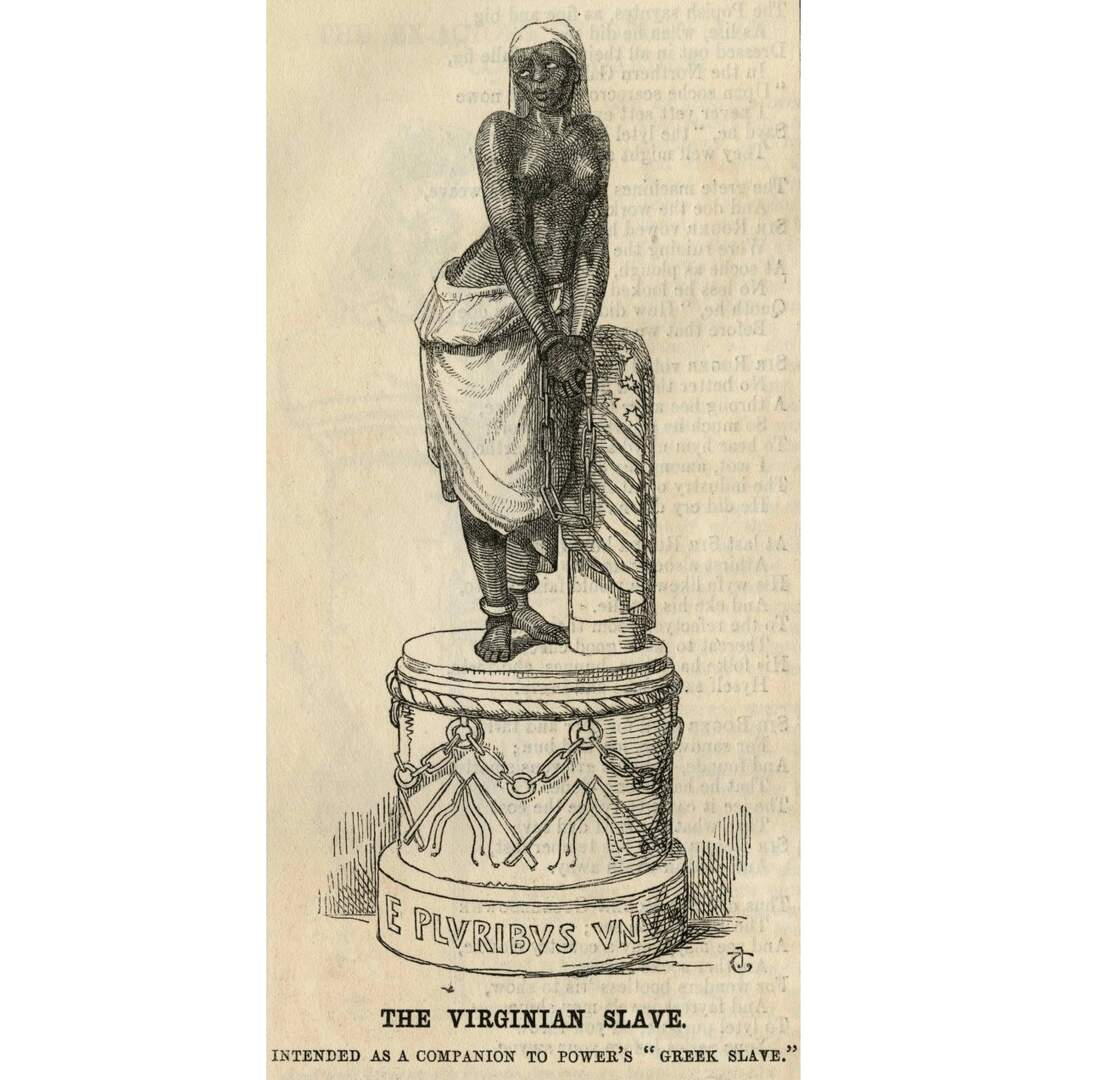 Virginian Slave, Intended as a Companion to Power's 'Greek Slave'