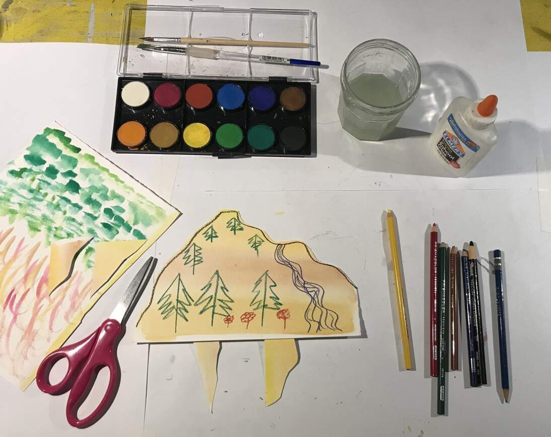 de Youngsters Art Party: Out-of-the-Box Landscape