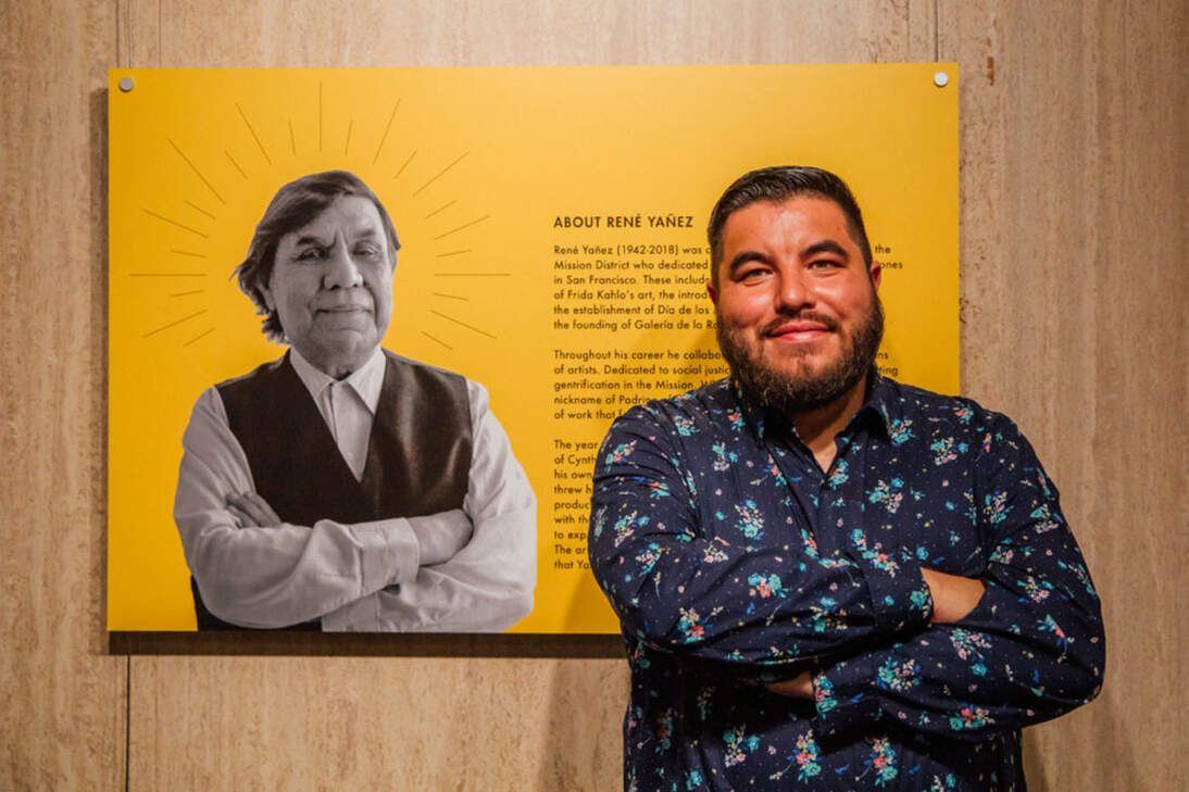 "Rio Yañez, Host of ""Local Voices: Celebrating Frida Kahlo."""