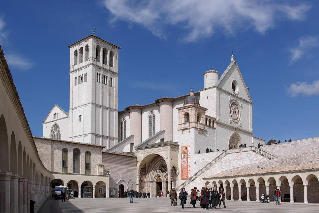 Basilica of Saint Francis of Assisi, 14th century, Assisi, Italy