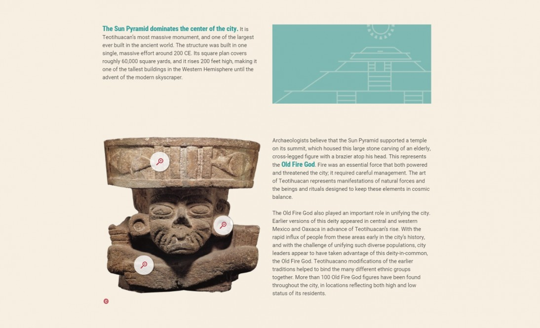 "The de Young's ""Teotihuacan: City of Water, City of Fire"" exhibition Digital Story"