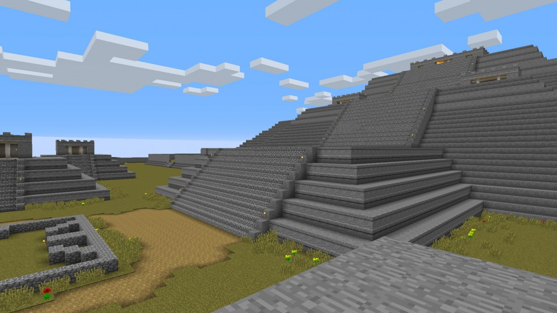 Trailer for the de Young's Teotihuacan Minecraft map