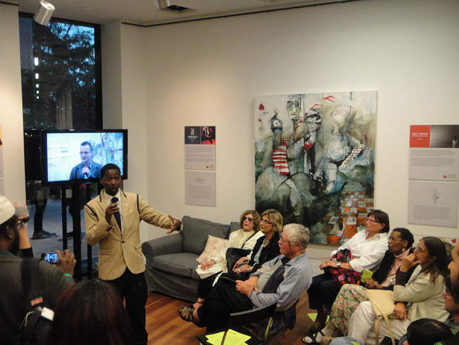 Kevin Epps in the Filmmaker's Lounge