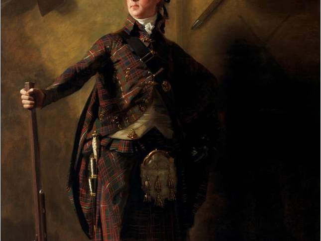 Sir Henry Raeburn 1756–1823, Colonel Alastair Ranaldson Macdonell, 15th Chief of Glengarry (1771–1828), about 1812, Oil on canvas, 241.9 x 151.1 cm (95¼ x 59½ in), Scottish National Gallery, Edinburgh, Purchased 1917 (NG420).