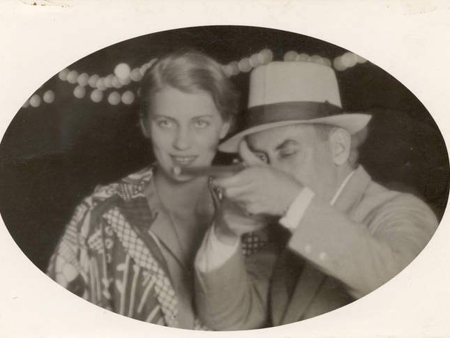 Man Ray, Lee Miller, and a gun