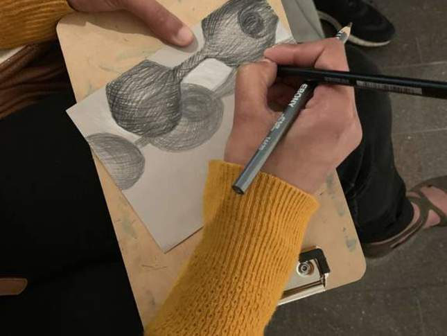 Free Saturdays: Sketching in the Galleries