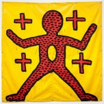 Keith Haring, Untitled, 1981. Photograph: Courtesy of Museum der Moderne Salzburg/Keith Haring Foundation