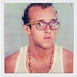 Keith Haring self portrait