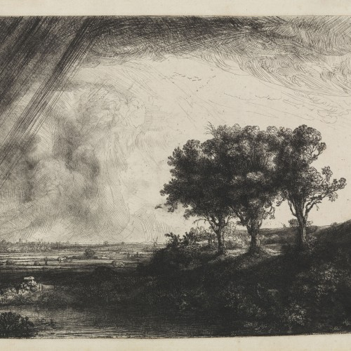 The Landscape with the Three Trees