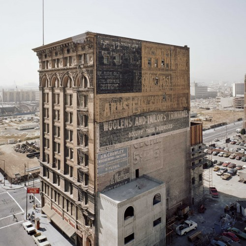 Janet Delaney, Mercantile Building, Mission at Third Street, 1980. Archival pigment print. Image courtesy of the artist. © 2014 Janet Delaney