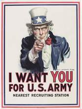 "James Montgomery Flagg, ""I Want You for U.S. Army"" poster, 1917"