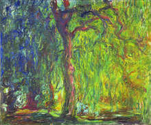 "Claude Monet, ""Weeping Willow"", 1918-1919."