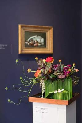 Bouquets to Art floral fine art exhibition