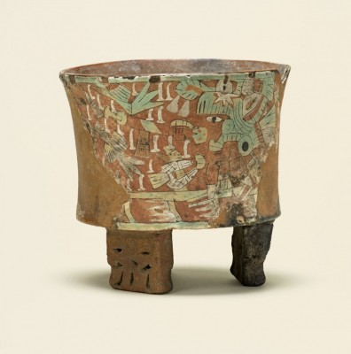 Tripod vessel with blowgunner, 450–550